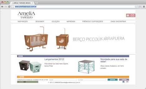 site Amelia Tarozzo